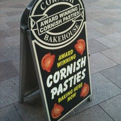 Photo taken at Cornish Bakehouse by Paul E. on 3/19/2012