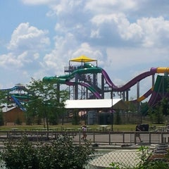 Photo taken at Zoombezi Bay Waterpark by Raphael J. on 7/17/2012