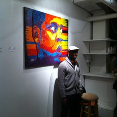 Photo taken at Frontrunner Gallery by Corey G. on 2/24/2012