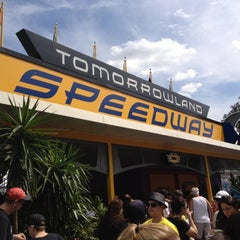 Photo taken at Tomorrowland® Speedway by William B. on 2/21/2012