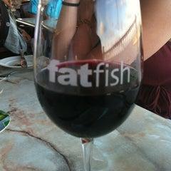 Photo taken at fatfish Wine Bar & Bistro by Kristin M. on 6/17/2012