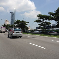 Photo taken at Lebuhraya Persekutuan (Federal Highway) by Chrystian T. on 5/11/2012