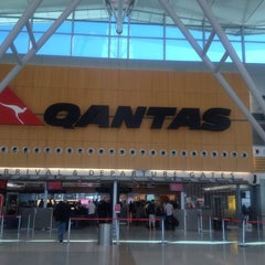 Photo taken at T3 Qantas Domestic Terminal by Benedetta L. on 3/8/2012