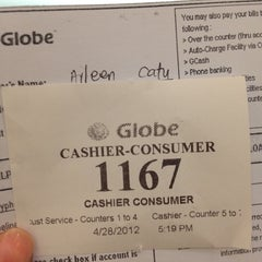 Photo taken at Globe Store by aileen c. on 4/28/2012