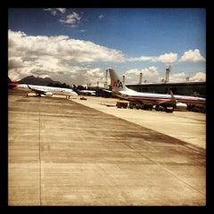 Photo taken at Aeropuerto Internacional La Aurora (GUA) by Daniel U. on 7/4/2012