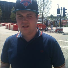 Photo taken at Megabus Birmingham City Centre Stop SH8 & SH9 by Natalie L. on 5/27/2012