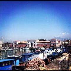 Photo taken at Porto di Catania by Mikhail B. on 6/10/2012