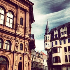 Photo taken at Vecrīga | Старая Рига | Riga Old town by Katty M. on 9/5/2012