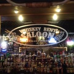 Photo taken at Whiskey Bent Saloon by Matt P. on 2/12/2012