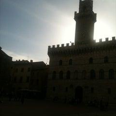Photo taken at Piazza Grande by Daniela on 4/28/2012