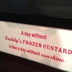 Photo taken at Freddy's Frozen Custard & Steakburgers by B G. on 7/8/2012