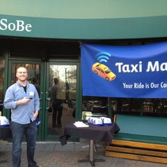 Photo taken at Taxi Magic Arlington Happy Hour @ SoBe by Elizabeth B. on 3/14/2012