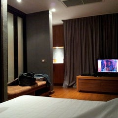 Photo taken at LUXX XL Hotel by Happy S. on 5/11/2012
