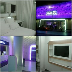 Photo taken at YOTEL New York by Johnny P. on 5/15/2012