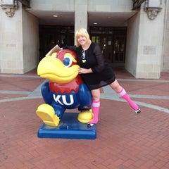 Photo taken at Kansas Union by Anna T. on 5/14/2012