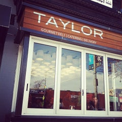 Photo taken at Taylor Gourmet by Natalie S. on 3/3/2012