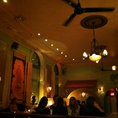Photo taken at Cafe Gitane at The Jane Hotel by Ilana L. on 3/11/2012