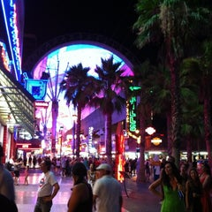 Photo taken at Fremont Street Flightlinez by Chad K. on 7/2/2012