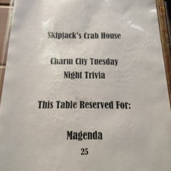 Photo taken at Skipjack's Crab House and Sports Bar by Manda on 8/28/2012