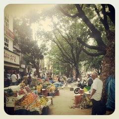 Photo taken at Gandhi Bazaar by Swaroop K. on 6/19/2012