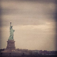 Photo taken at Staten Island Ferry Boat - Spirit Of America by Tim A. on 4/24/2012