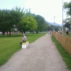 Photo taken at Parcul Centrul Civic by Valentin M. on 6/9/2012