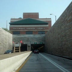 Photo taken at Baltimore Harbor Tunnel by Mark B. on 8/9/2012