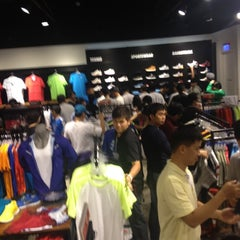 Photo taken at Nike Crescent Mall by Guru L. on 7/1/2012