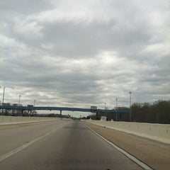 Photo taken at Dover Toll Plaza by Benjamin F. on 3/29/2012
