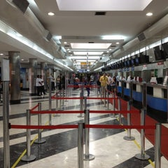 Photo taken at Aeroporto Internacional de Campo Grande (CGR) by Ricardo M. on 8/25/2012