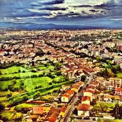 """Photo taken at Aeroporto di Firenze """"Amerigo Vespucci"""" (FLR) by Brigitte C. on 4/19/2012"""