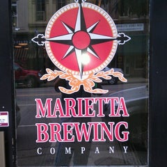 Photo taken at Marietta Brewing Company by Jason T. on 7/20/2012