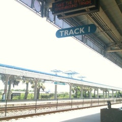 Photo taken at Tri-Rail - Boca Raton Station by Jason H. on 7/28/2012