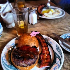Photo taken at Peter Luger Steak House by Jake M. on 7/12/2013