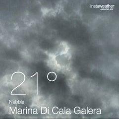 Photo taken at Marina Di Cala Galera by Daniele D. on 9/8/2013