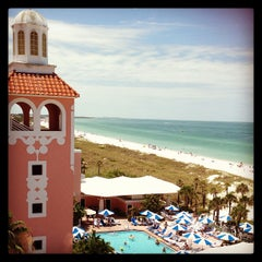 Photo taken at Loews Don CeSar Hotel by Miss Kelly J. on 5/27/2013