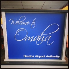 Photo taken at Omaha Eppley Airfield (OMA) by Brady S. on 7/19/2013