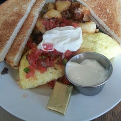Photo taken at Early Girl Eatery by Ask Asheville h. on 10/26/2012