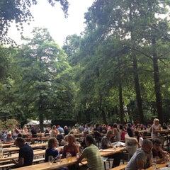 Photo taken at Café am Neuen See by Bernd M. D. on 7/13/2013