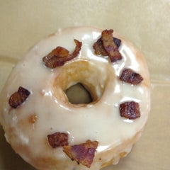 Photo taken at Glazed Gourmet Doughnuts by Ed S. on 4/20/2013