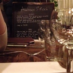 Photo taken at Auberge Saint Roch by Laura A. on 1/2/2014