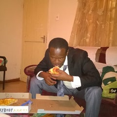 Photo taken at Debonairs Pizza by Festo N. on 4/6/2014