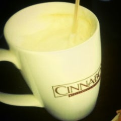 Photo taken at Cinnabon Bakery Cafe by Imran S. on 12/22/2012
