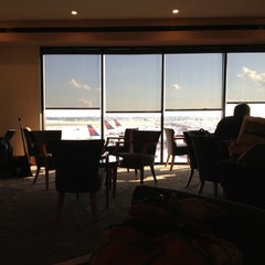 Photo taken at Delta Sky Club by brigflood on 10/26/2012