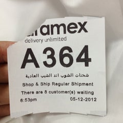 Photo taken at Aramex | ارامكس by Rashid A. on 12/5/2012