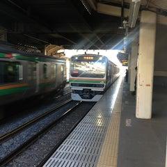 Photo taken at 石橋駅 (Ishibashi Sta.) by Masazumi O. on 3/15/2013