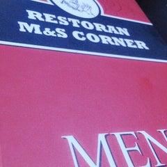 Photo taken at M & S Corner by aeryneryna on 1/8/2014