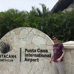 Photo taken at Punta Cana International Airport (PUJ) by Romain G. on 6/9/2013