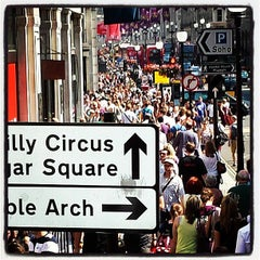 Photo taken at Oxford Street by robin g. on 7/6/2013