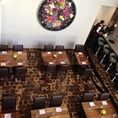 Photo taken at Bluestem Brasserie by Rene S. on 10/4/2012